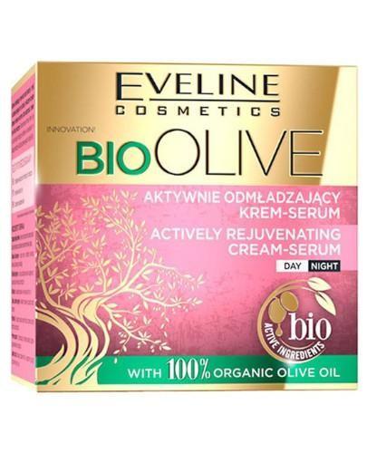 Eveline Bio Olive aktywnie odmładzający krem-serum 50 ml