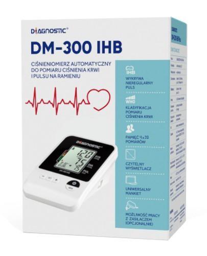 Diagnostic DM-300 IHB ciśnieniomierz automatyczny naramienny z zasilaczem 1 sztuka
