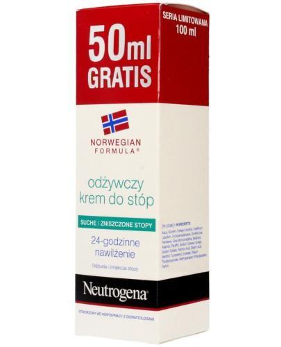Neutrogena Formuła Norweska odżywczy krem do stóp suchych i zniszczonych 50 ml