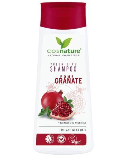 Cosnature Naturalny zwiększający objętość włosów szampon z owocem granatu 200 ml