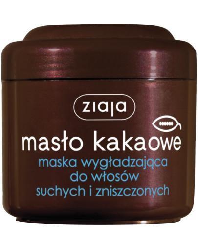 Ziaja Masło Kakaowe maska wygładzająca do włosów suchych i zniszczonych 200 ml