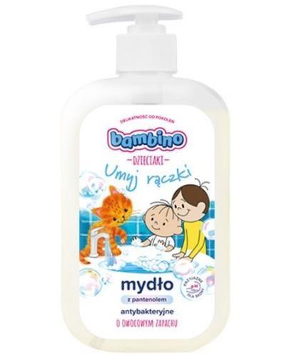 Bambino Dzieciaki mydło antybakteryjne umyj rączki o owocowym zapachu 500 ml
