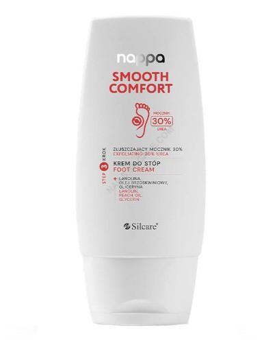 Silcare Nappa Smoorh Comfort złuszczający krem do stóp mocznik 30%100 ml  [KUP 2 produk...