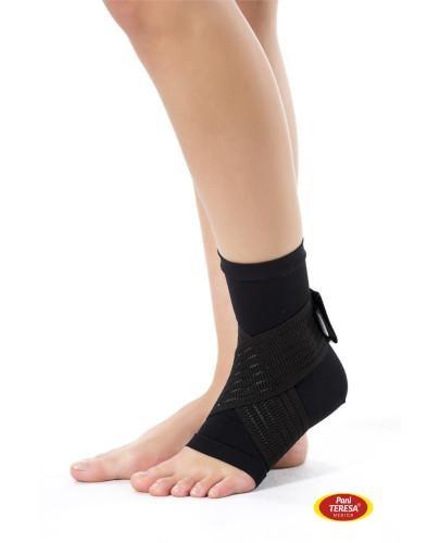 Pani Teresa opaska elastyczna stawu skokowego skarpetka bezszwowa rozmiar XL czarna 1 sztu...