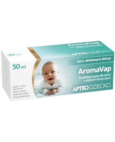 AromaVap żel pielęgnacyjny dla dzieci z olejkami eterycznymi 30 ml