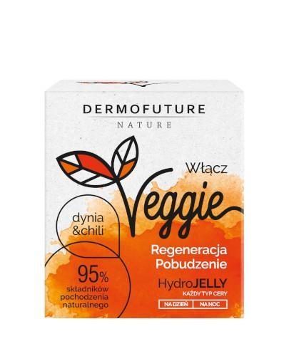 DermoFuture Veggie Hydrojelly żel-krem do twarzy Dynia i Chili 50 ml