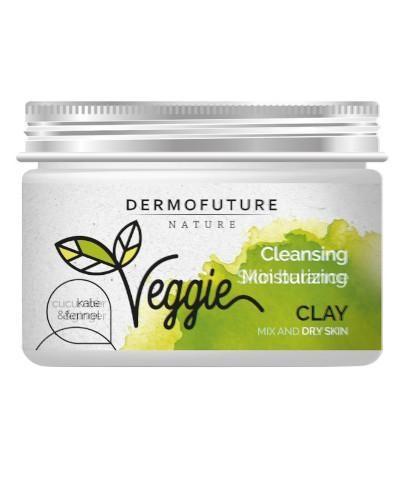 DermoFuture Veggie glinka oczyszczająca Jarmuż & Fenkuł 150 ml