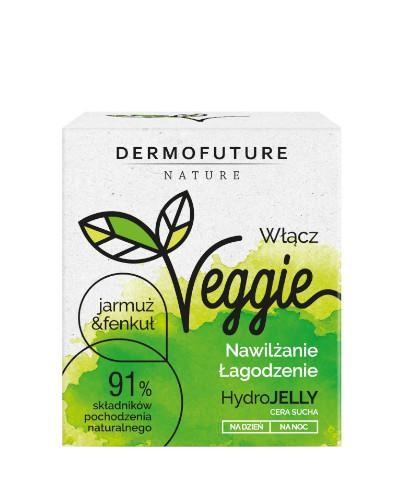 DermoFuture Veggie HydroJelly żel-krem do twarzy Jarmuż & Fenkuł 50 ml