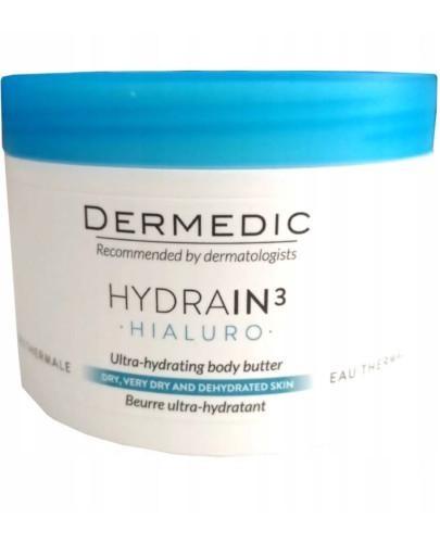 Dermedic Hydrain 3 Hialuro masło ultranawadniające 225 ml