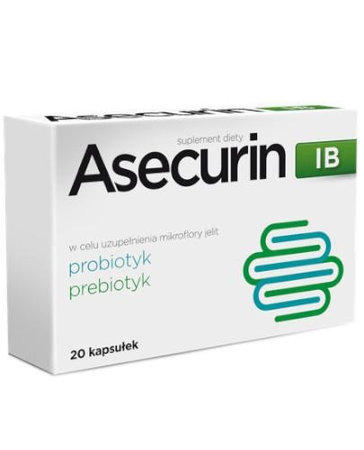 Asecurin IB 20 kapsułek