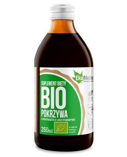 EkaMedica Pokrzywa Bio sok 100% 250 ml
