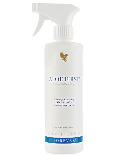 Forever Aloe First ekstrakt z aloesu i ziól spray 473 ml