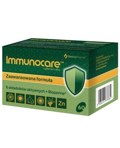 Immunocare 60 kapsułek