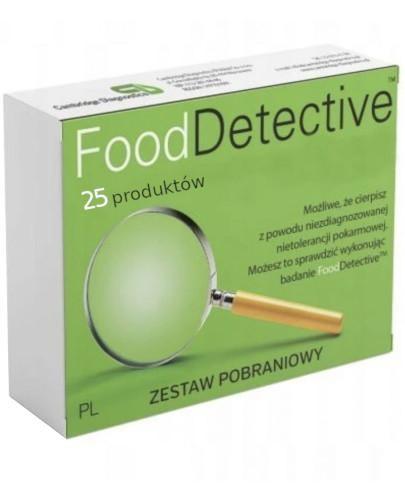 Food Detective Mini badanie nietolerancji pokarmowej 25 produktów zestaw pobraniowy 1 sz...