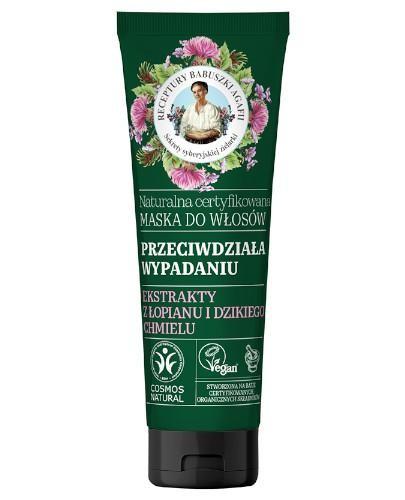 Babuszka Agafia Naturalna certyfikowana maska do włosów przeciw wypadaniu 200 ml