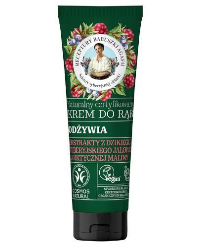 Babuszka Agafia Naturalny certyfikowany krem do rąk odżywczy 75 ml