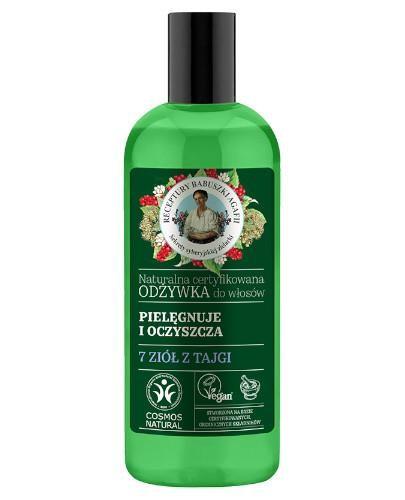 Babuszka Agafia Naturalna certyfikowana odżywka do włosów pielęgnuje i oczyszcza 260 m...