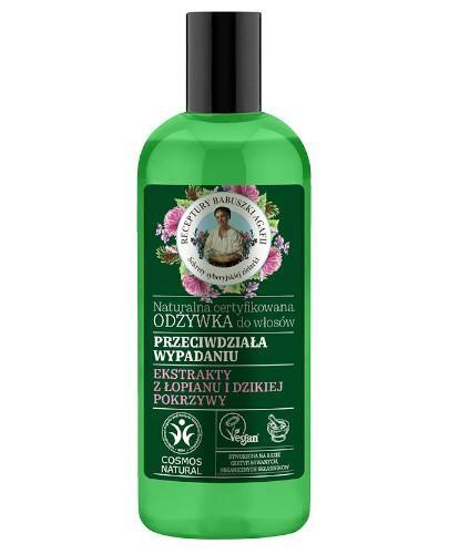 Babuszka Agafia Naturalna certyfikowana odżywka do włosów przeciw wypadanu 260 ml
