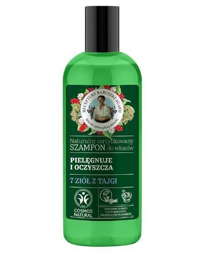 Babuszka Agafia Naturalny certyfikowany szampon do włosów pielęgnuje i oczyszcza 260 ml