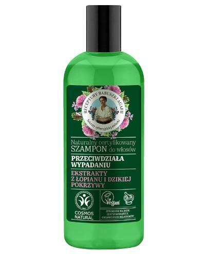 Babuszka Agafia Naturalny certyfikowany szampon do włosów przeciw wypadaniu 260 ml