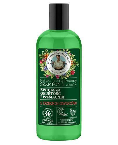 Babuszka Agafia Naturalny certyfikowany szampon do włosów zwiększający objęt...