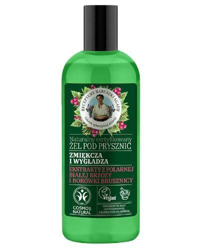 Babuszka Agafia Naturalny certyfikowany żel pod prysznic zmiękczająco - wygładzając...
