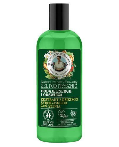 Babuszka Agafia Naturalny certyfikowany żel pod prysznic erergetyczno-odświeżając...