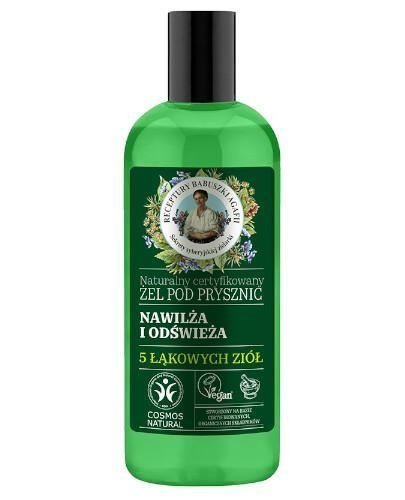 Babuszka Agafia Naturalny certyfikowany żel pod prysznic nawilżająco-odświeżając...