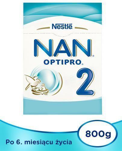 NESTLE NAN OPTIPRO 2 Mleko modyfikowane w proszku dla niemowląt powyżej 6 miesiąca 2...