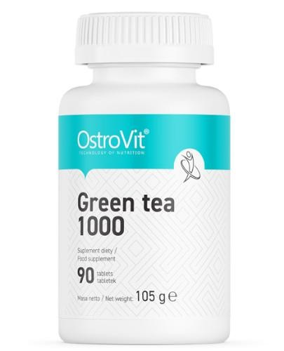 OstroVit Green Tea (zielona herbata) 100 mg 90 tabletek