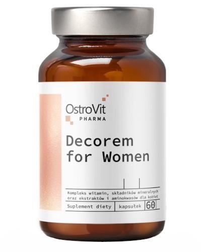 OstroVit Pharma Decorem For Women 60 kapsułek