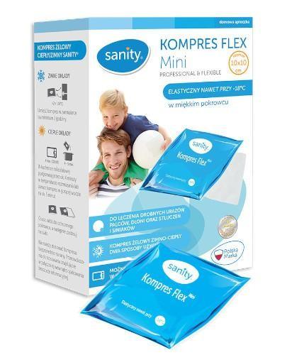 Sanity Kompres Flex Mini 10 cm x 10 cm 1 sztuka