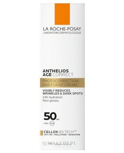 La Roche Posay Anthelios Age Correct krem przeciwsłoneczny do twarzy SPF 50+ 50 ml