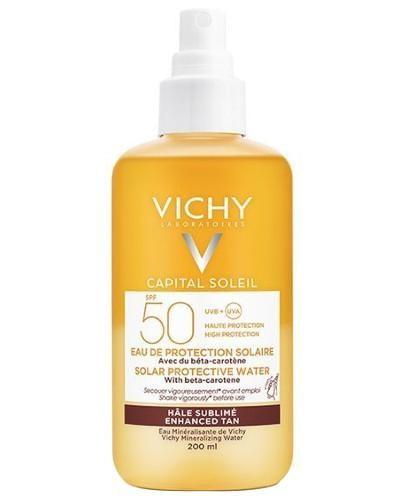 Vichy Capital Soleil mgiełka przyspieszająca opalanie z Beta-Karotenem SPF 50 200 ml