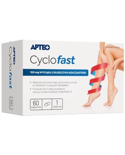 Apteo Cyclofast 60 kapsułek