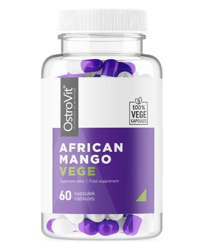OstroVit Afrykańskie Mango VEGE 60 kapsułek