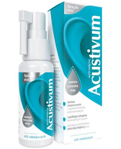 Acustivum spray do uszu 20 ml
