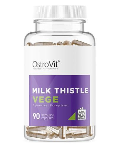 OstroVit Milk Thistle VEGE (ostropest plamisty) 90 kapsułek