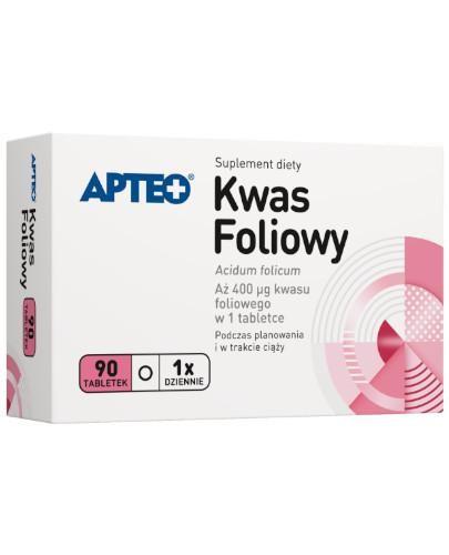 Apteo Kwas foliowy 90 tabletek