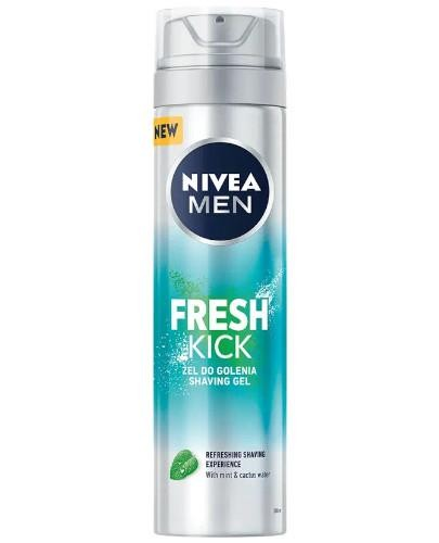 Nivea Men Fresh Kick żel do golenia 200 ml