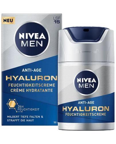 Nivea Men Hyaluron przeciwzmarszczkowy krem dla mężczyzn 50 ml