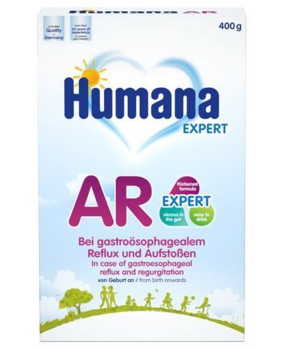 Humana AR Expert mleko modyfikowanne przeciw ulewaniom od urodzenia 400 g