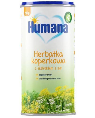 Humana Herbatka koperkowa 200 g