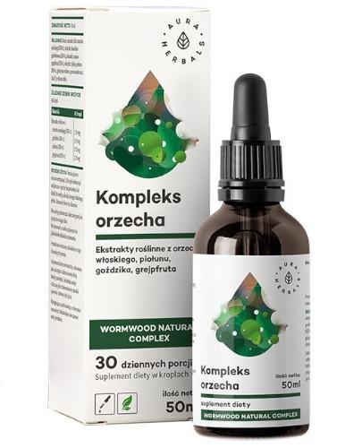 Aura Herbals Kompleks orzecha Wormwood Natural Complex krople 50 ml