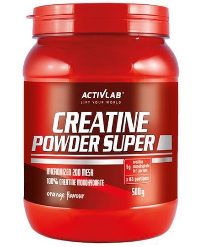 ActivLab Creatine Powder Super smak czarna porzeczka 500 g