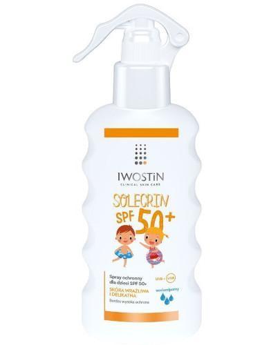 Iwostin Solecrin spray ochronny dla dzieci SPF50+ 175 ml