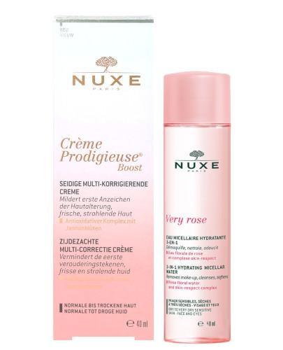 Nuxe Creme Prodigieuse Boost aksamitny krem do skóry normalnej i suchej 40 ml + łagodzą...