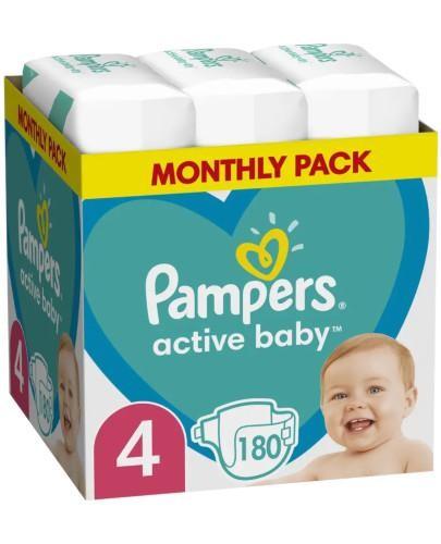 Pampers Active Baby 4 pieluchy 9-14 kg 180 sztuk
