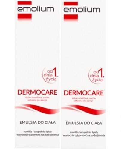 Emolium Dermocare emulsja do ciała od urodzenia 2x 400 ml [DWUPAK]