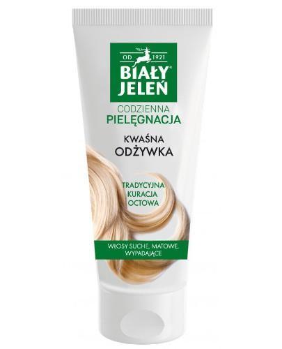 Biały Jeleń kwaśna odżywka do włosów 200 ml
